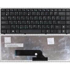 Клавиатура для ноутбука Asus K40 K40AB K40AC K40AD K40AF K40C K40ID K40IJ K40IL K40IN K40IP черная