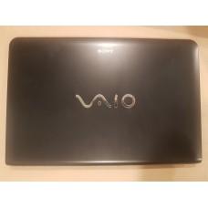 Крышка матрицы (A cover) для ноутбука Sony SVE1512H1RB, SVE1511C1RW, SVE-151C11V (3FHK5LHN000), б/у