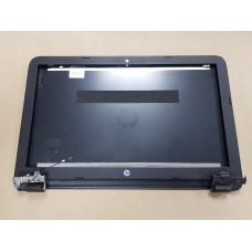 Крышка матрицы в сборе с петлями и рамкой для HP 15-ba (854990-001) б/у