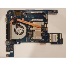 Материнская плата Princeton-11-AMD rev 1.1 BA41-01686A для ноутбука Samsung NP305U1A с системой охлаждения